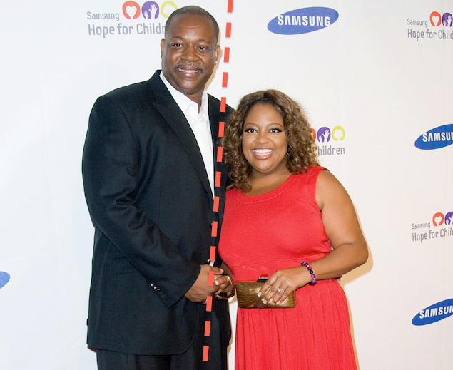 Lamar Sally and Sherri Shepherd